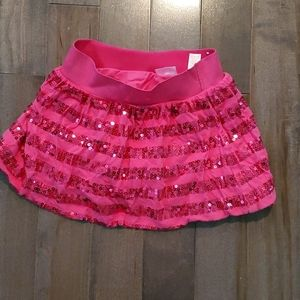 Pink Girls' Skorts with Sequins Justice Size 8
